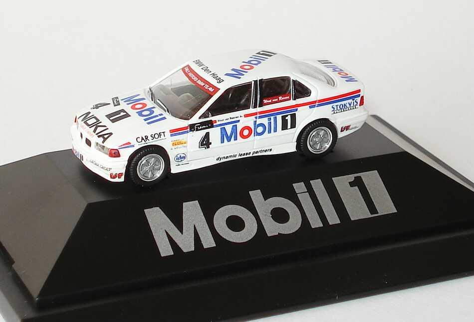 Foto 1:87 BMW 320i (E36) DSC Carly Motors, Mobil 1 Nr.4, Wout van Reenen (de Kleine) herpa