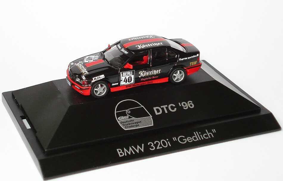 Foto 1:87 BMW 320i (E36) DTC´96 Köstritzer Nr.40, Gedlich herpa 037075