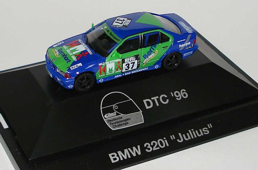 Foto 1:87 BMW 320i (E36) DTC ´96 Neumeister, Karl Müller Nr.37, Rüdiger Julius herpa 036788