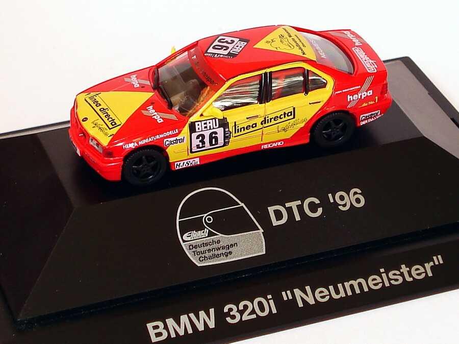 Foto 1:87 BMW 320i (E36) DTC´96 Neumeister, Linea Direkta Nr.36, Neumeister herpa 036771