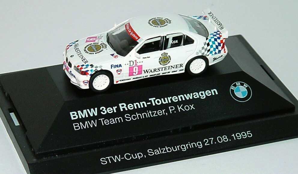 Foto 1:87 BMW 320i (E36) STW 1995 Schnitzer Nr.9, P. Kox Werbemodell STW-Cup, Salzburgring 27.08.1995 herpa