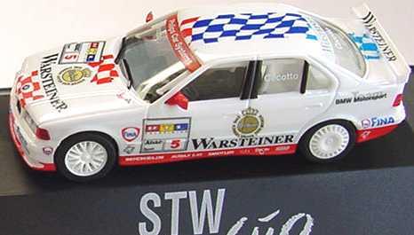Foto 1:87 BMW 320i (E36) STW 1997 BMW, Warsteiner Nr.5, Cecotto herpa 037143