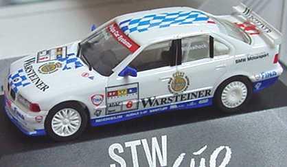 Foto 1:87 BMW 320i (E36) STW 1997 Bigazzi, Warsteiner Nr.6, Winkelhock herpa 037136