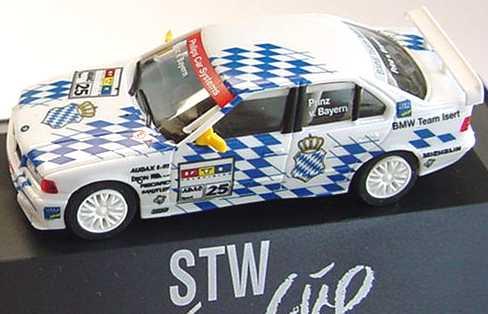 Foto 1:87 BMW 320i (E36) STW 1997 Isert Nr.25, v.Bayern herpa 037129