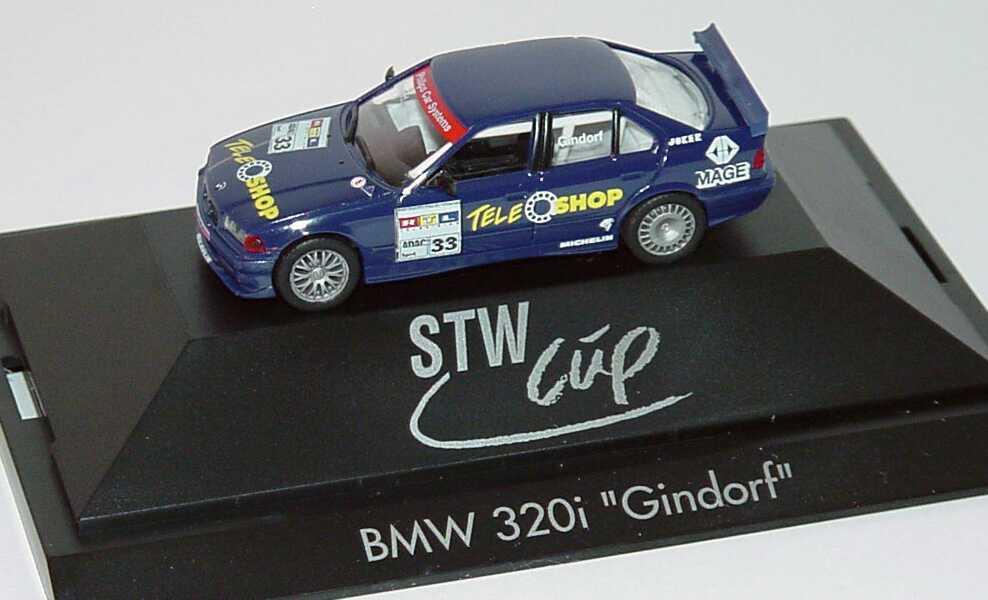 Foto 1:87 BMW 320i (E36) STW 1997 Tele Shop Nr.33, Gindorf herpa 037105