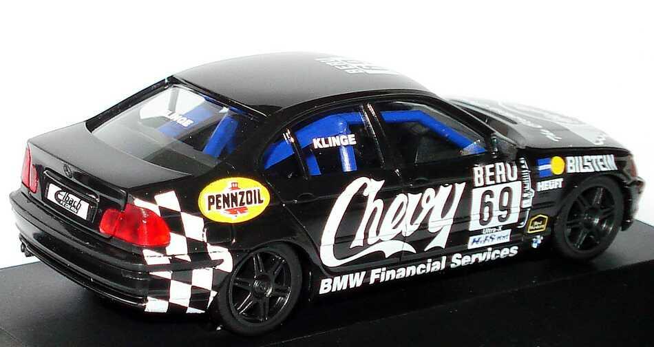 Foto 1:87 BMW 320i (E46) DTC ´99 Chevy Nr.69, Klinge herpa 037815