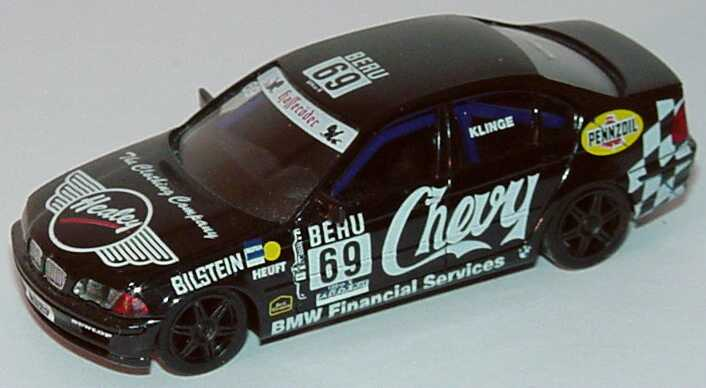 Foto 1:87 BMW 320i (E46) DTC ´99 Chevy Nr.69, Klinge (ohne PC-Box) herpa 037815