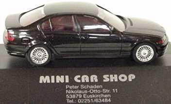 Foto 1:87 BMW 320i (E46) schwarz Nürburgring ´98 herpa