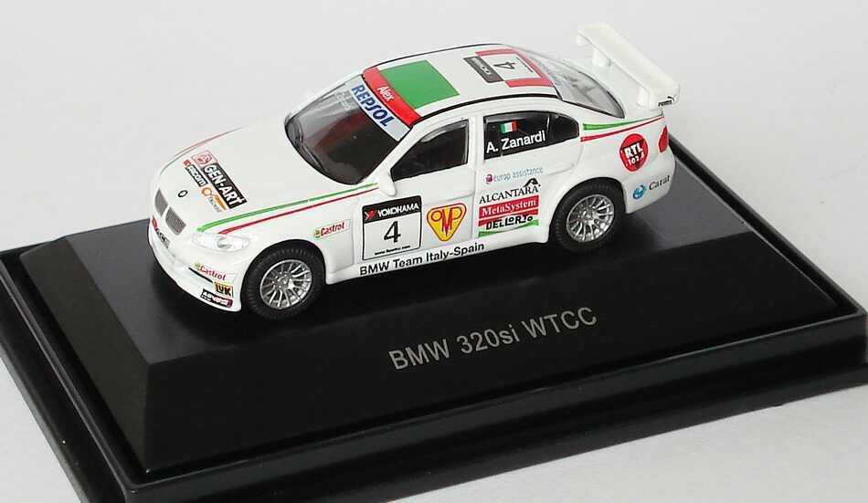 Foto 1:87 BMW 320si WTCC 2008 BMW Team Italy-Spain Nr.4, Alex Zanardi Schuco 452557500