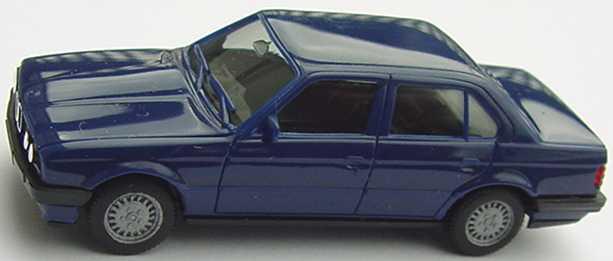 Foto 1:87 BMW 325i 4türig (E30) dunkelblau herpa 2078