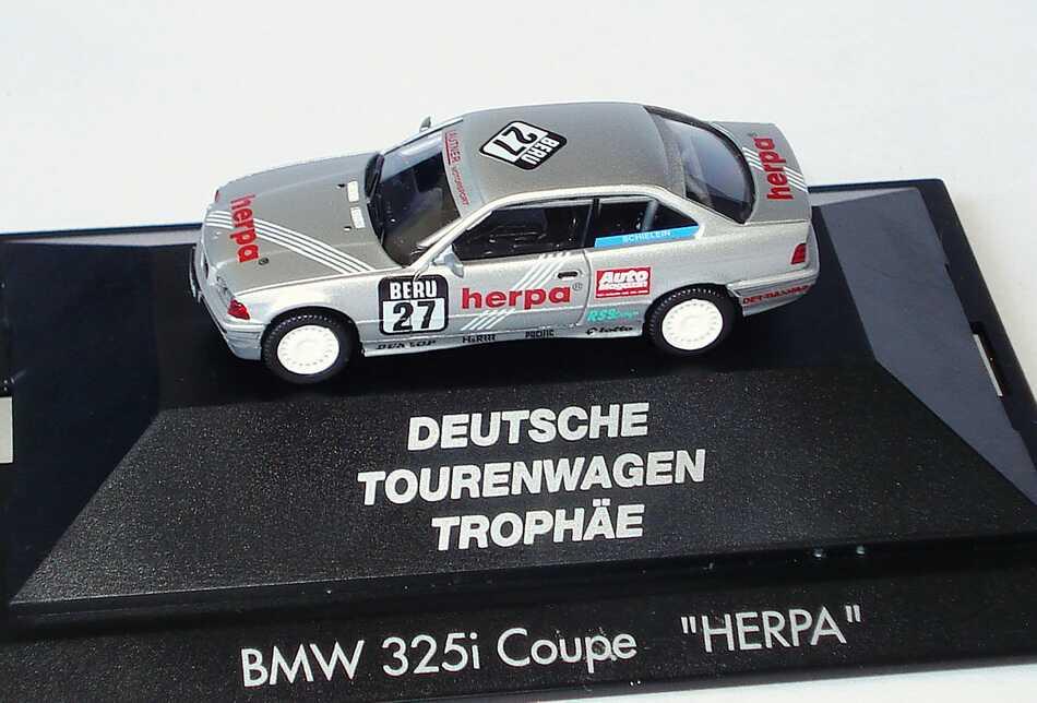 Foto 1:87 BMW 325i Coupé (E36) DTT 1994 herpa Nr.27, Schielein herpa