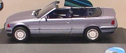Foto 1:87 BMW 325i (E36) Cabrio mit Hardtop samoablau-met. (BMW, Markteinführung) herpa
