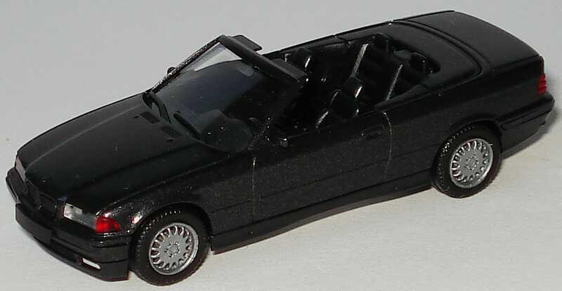 Foto 1:87 BMW 325i (E36) Cabrio schwarz-met. herpa 031387