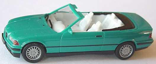 Foto 1:87 BMW 325i (E36) Cabrio türkis herpa 021388