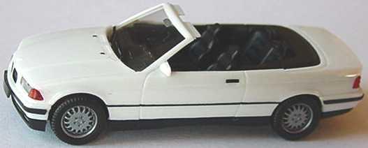 Foto 1:87 BMW 325i (E36) Cabrio weiß herpa 021388