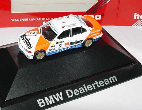 Foto 1:87 BMW 325i (E36) Marlboro, BMW Dealerteam Nr.2 herpa