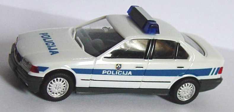 Foto 1:87 BMW 325i (E36) Policija (Polizei Slovenien) herpa 089012