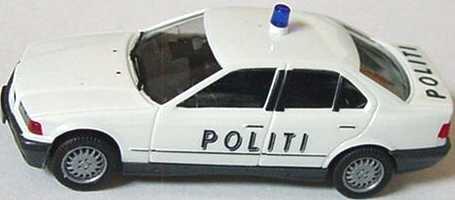 Foto 1:87 BMW 325i (E36) Politi herpa 041959