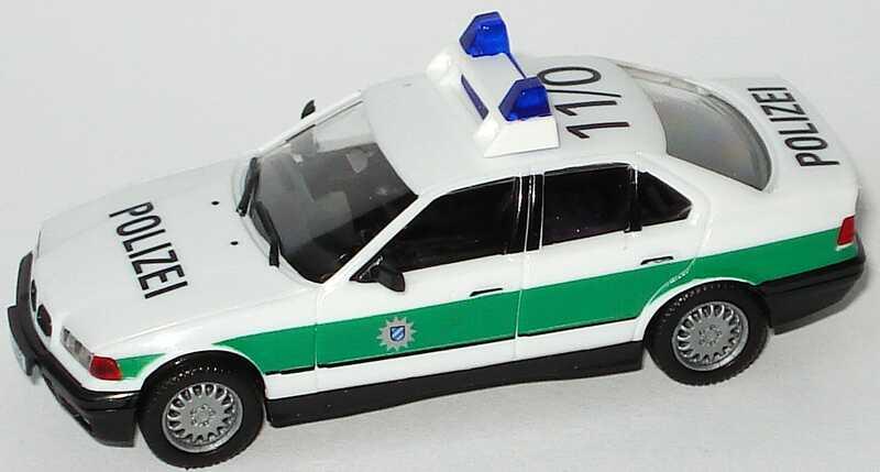Foto 1:87 BMW 325i (E36) Polizei bayrisch 11/0 herpa 186223