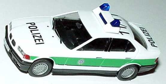Foto 1:87 BMW 325i (E36) Polizei bayrisch 11/11 herpa 186223