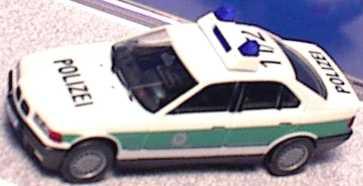 Foto 1:87 BMW 325i (E36) Polizei bayrisch 11/2 herpa 186223