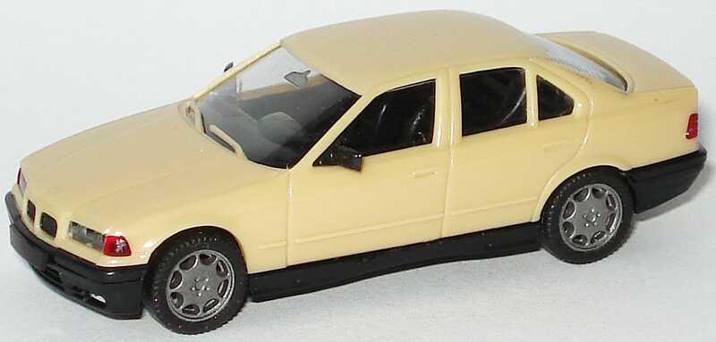 Foto 1:87 BMW 325i (E36) beige herpa 2089