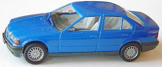 Foto 1:87 BMW 325i (E36) blau herpa 020892