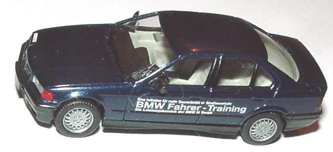 Foto 1:87 BMW 325i (E36) blau-met. BMW Fahrer-Training (ohne PC-Box) herpa