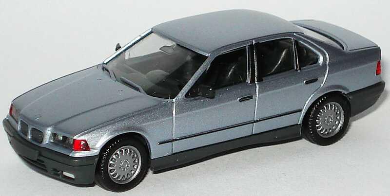 Foto 1:87 BMW 325i (E36) blausilber-met. herpa 3089