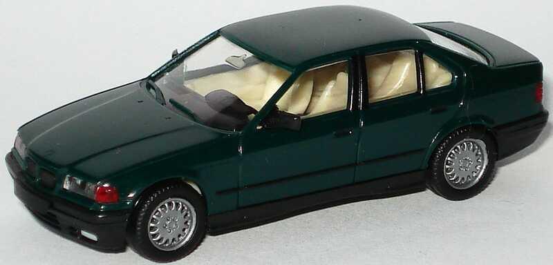 Foto 1:87 BMW 325i (E36) dunkelgrün herpa 020892