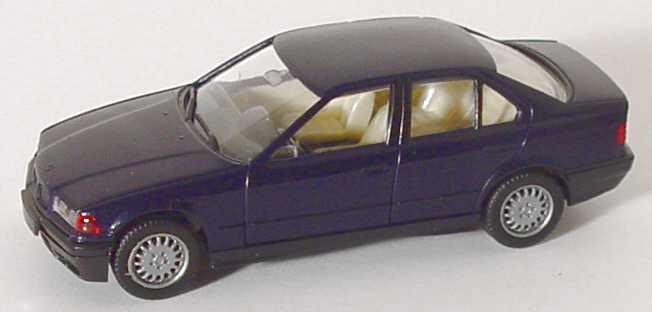 Foto 1:87 BMW 325i (E36) mauritiusblau-met. herpa 030892