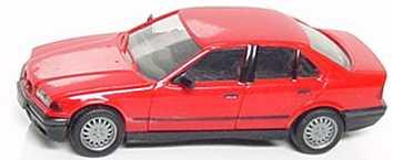 Foto 1:87 BMW 325i (E36) rot herpa 020892