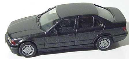 Foto 1:87 BMW 325i (E36) schwarz-met. herpa 030892
