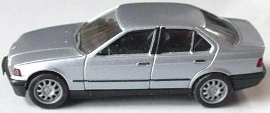 Foto 1:87 BMW 325i (E36) silber-met. (oV, ohne Spiegel) herpa