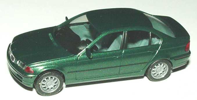 Foto 1:87 BMW 328i (E46) dunkelgrün-met. herpa 032544