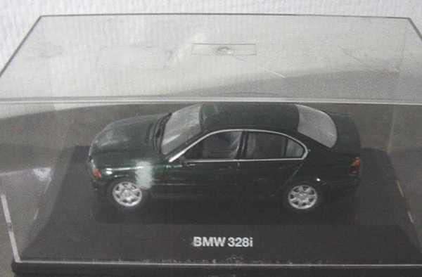 Foto 1:43 BMW 328i (E46) grün-met. (Mängel) Schuco