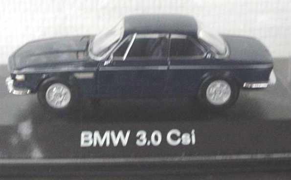 Foto 1:43 BMW 3,0 CSi dunkelblau Schuco 02194
