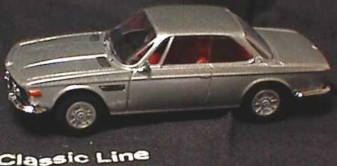 Foto 1:43 BMW 3,0 CSi silber-met. BMW Classic Line