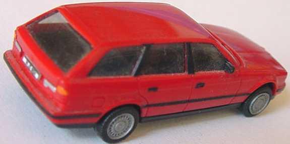 Foto 1:87 BMW 525i touring rot (oV, gesupert) herpa 020961