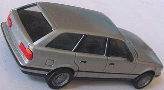Foto 1:87 BMW 525i touring silber-met. (oV, gesupert) herpa 030960