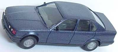 Foto 1:87 BMW 535i (E34) blau-met. herpa 030656