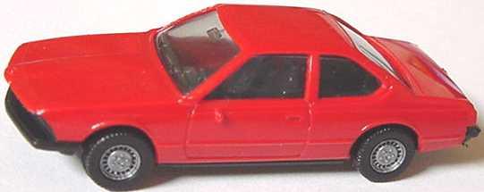 Foto 1:87 BMW 633 CSi (E24) rot herpa 2000