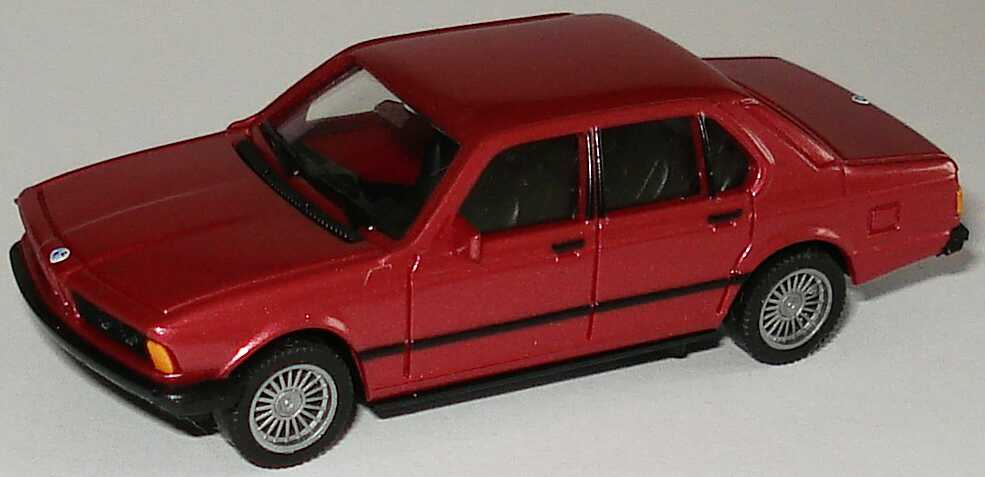 Foto 1:87 BMW 728i (E23) rot-met. (ohne PC-Box) herpa 100762