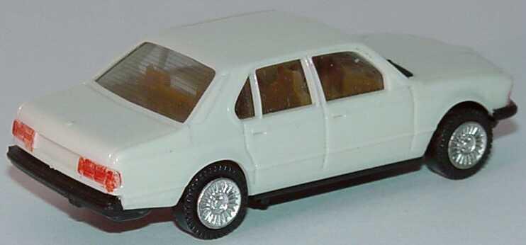 Foto 1:87 BMW 745i (E23) altweiß, IA beige (Bastelware) herpa 2027
