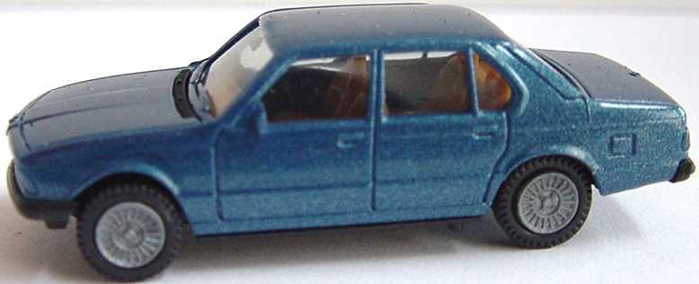 Foto 1:87 BMW 745i (E23) blau-met. herpa 3027