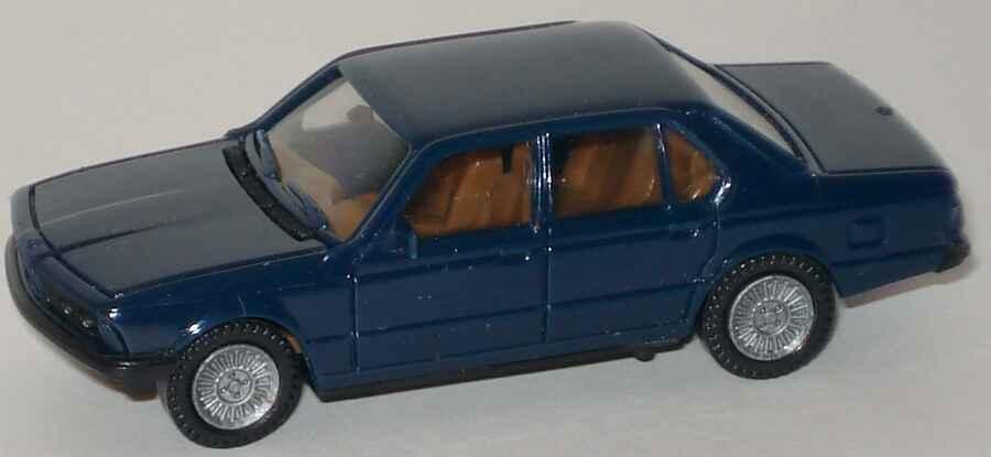 Foto 1:87 BMW 745i (E23) dunkelblau herpa 2027