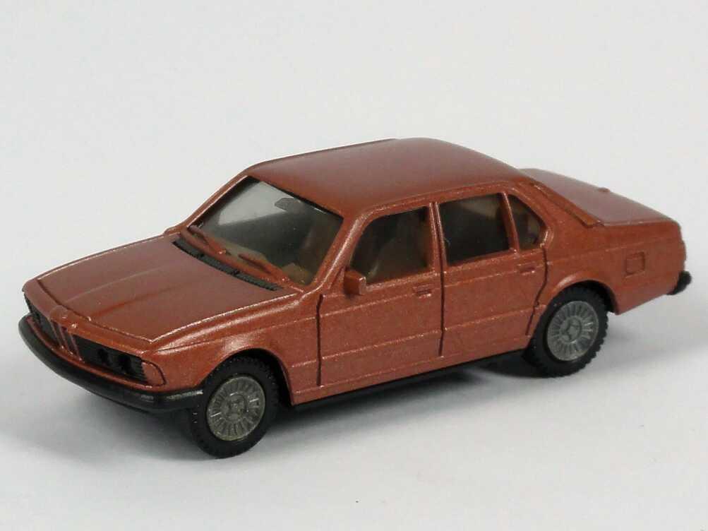 Foto 1:87 BMW 745i (E23) kupferrot-met. herpa 3027