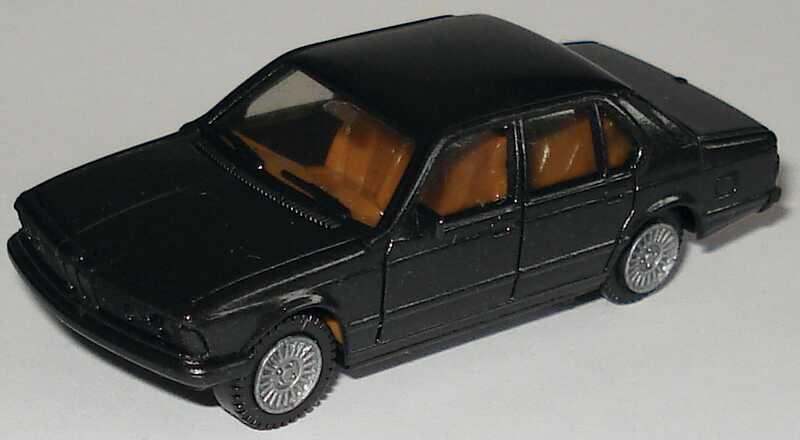 Foto 1:87 BMW 745i (E23) schwarz-met. herpa 3027