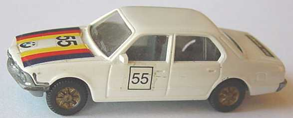 Foto 1:87 BMW 745i (E23) weißgrau Nr.55 (Decals) Fleischmann