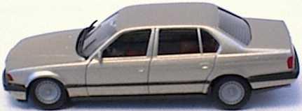 Foto 1:87 BMW 750iL (E32) rauchsilber-met. (oV, defekt) herpa